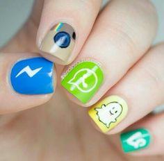 Nails de redes sociales