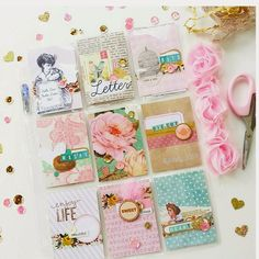 The Paper Treasury: SHABBY CHIC POCKET LETTER