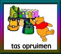 dagritmekaarten uploaded this image to 'Winnie the Pooh/thuis'. See the album on Photobucket. Daily Schedule Cards, Cool Websites, Winnie The Pooh, This Or That Questions, Prints, Kids, Pooh Beer, Om, Bullet Journal