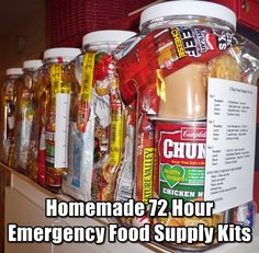 What Items Should Be in My Car Emergency Survival Kit?Everyone who owns a car should carry a car survival kit with them at all times. Emergency Food Supply, Emergency Preparation, Emergency Supplies, Emergency Kits, Family Emergency, Survival Supplies, Emergency Planning, Emergency Rations, Camping Supplies