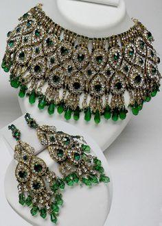 Bridal-Indian-Kundan-Jewellery-Set