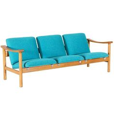 Hans J. Wegner Model-280 Sofa for GETAMA | 1stdibs.com