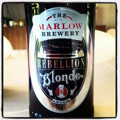 The Marlow Brewery - Rebellion Blonde - 4.3% ABV - a lovely pale golden ale - with crisp hop character and a well balanced malt flavour