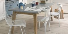 Cool Kitchen Tables and Scrummy Pairs of Chairs | Loaf