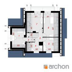 Дом в тамарисках - Проект ARCHON+ Traditional House, Floor Plans, How To Plan, Floor Plan Drawing, House Floor Plans