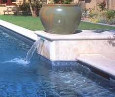Phoenix Pool Repair, Remodel, Redesign, Resurface at Shasta Pools . Waterline Pool Tile, Mosaic Tiles, Pool Tiles, Rectangular Pool, Patio Flooring, Spa, Exterior, Outdoor Decor, Backyard Ideas