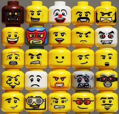 Heads LEGO