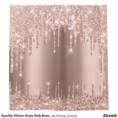 Glitter Bedroom, Glitter Paint For Walls, Glitter Curtains, Glitter Wallpaper Bedroom, Glitter Rosa, Rose Gold Glitter, Glitter Accent Wall, Baby Shower Invitaciones, Shabby Chic Pink