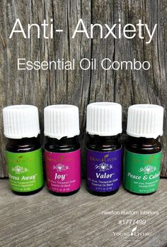 Young Living Essential Oils for Anxiety Relief Young Essential Oils, Essential Oils For Anxiety, Essential Oil Uses, Natural Essential Oils, Yl Oils, Aromatherapy Oils, Young Living Oils, Young Living Anxiety, Diffuser Blends