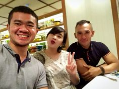 Too bad Pinterest hasn't update more location so I can't named the restaurant where we took this happy selfie. *Booooo!!!  Location: Benedict, Grand Indonesia.