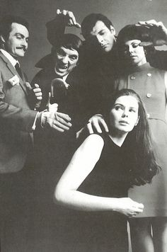 "The old ""Dark Shadows"" TV show, 1967."
