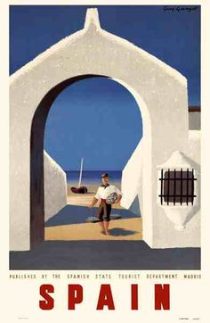 Vintage Spain Travel Poster. http://www.costatropicalevents.com/en/costa-tropical-events/andalusia/welcome.html