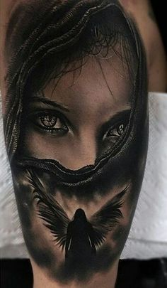 My favorite, feels so familiar! The eyes are killer! May have to be my first tattoo.