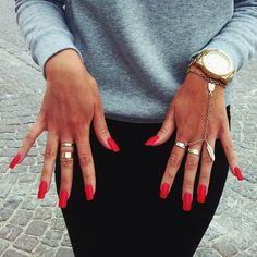 LOVING RED ❤️