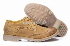 2017 New Timberland Men's Earthkeepers Brogue Oxford WingTip Shoes Khaki $ 83.00