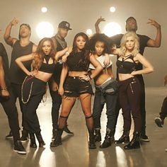 """Check out the premiere of Little Mix's latest music video for """"Move""""! The track serves as the official lead single off their upcoming sophomore album Salute, which is scheduled for release on Novem..."""