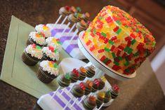 Gummy Bear Pinata Cake by HeavenlyCakePops