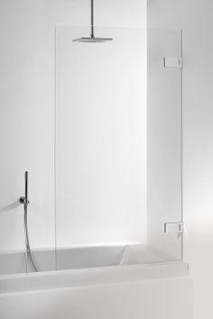 Sealskin optix 600 1-delige badwand. Stijlvol en profielloos.