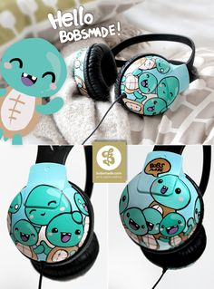 Bobsmade cute headphones!
