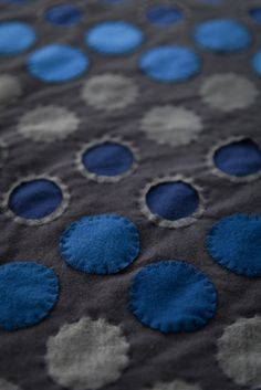 Diy Polka Dot Throw-