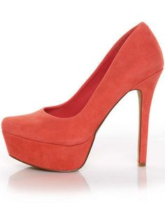 Jessica Simpson coral pumps