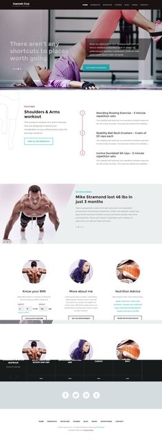 In Shape Responsive #WordPress Theme for Fitness Sites http://www.themesandmods.com/premium-wordpress-themes/shape/