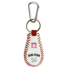 Milwaukee Brewers Paul Molitor Hall of Fame Key Chain