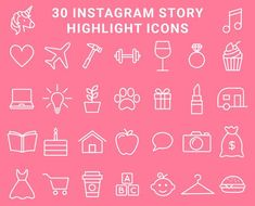 Book Instagram Highlight Cover Marble