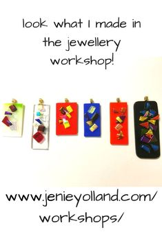 Love these pendants! Art glass pendant set in the making. Melbourne workshop with Jenie Yolland. Everything is included in all our workshops. Come with your best friend and get a discount. Glass Earrings, Glass Jewelry, Jewellery Workshop, Handcrafted Jewelry, Handmade, Fused Glass Art, Ceiling Pendant, Pendant Set, Glass Pendants
