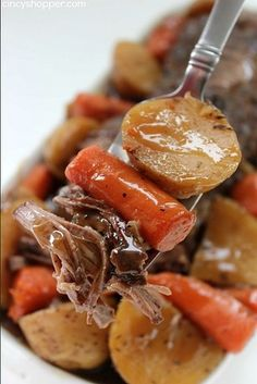 Slow Cooker Pot Roast | 24 Dump Dinners You Can Make In A Crock Pot