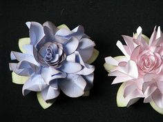 paper flower with punch