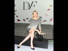 Kelly Rutherford au défilé Diane Von Furstenberg