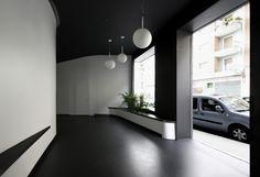#Recibidor #vanguardista #contract via @planreforma #antes y despues #fachada #lamparas #iluminaciondiseñado por ONYON huerto creativo   Arquitecto