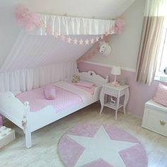 the princess room- …das Prinzessin-Zimmer … the princess room😍 # Girl& room # children& room # Mädchenzim … – -