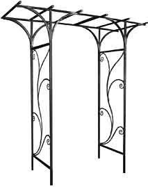 wrought iron arbors | Wrought Iron, Trellises, Gazebos, Plant Stands, Arbors, Hangers, Art ...