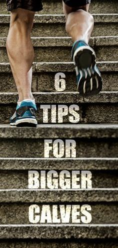 Healthy Men Use these 6 easy tips to for stronger, more muscular calves! - If you're self-conscious about the size of your calves, despite hundreds of reps of calf raises, this article is for you. Those little calf muscles can be stubborn an. Leg Workouts For Men, Leg Workout At Home, Easy Workouts, At Home Workouts, Workout Plans, Plank Workout, Workout Tips, Workout Videos, Yoga Fitness