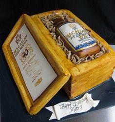 Macallan Bottle Cake Birthday Cakes Pinterest Bottle