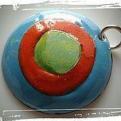 """Украшения ручной работы. Ярмарка Мастеров - ручная работа Кулон """"Разноцветный"""". Handmade."""