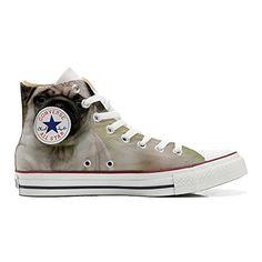 Schuhe Converse All Star Custom Customized - Personalisierte Schuhe (Handwerk Produkt Customized) Decor Paisley Size 32 EU Mys DJarSVF