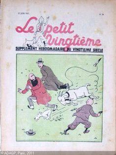 "wiredforlight: "" Le petit vingtieme, June 17, 1937 """