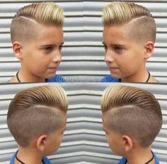 kort hår til drenge