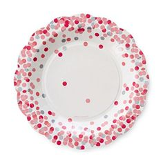 MarthaCelebrations™ Scalloped Paper Cocktail Plates – Cotton Candy - jcpenney~ LOVE these!!