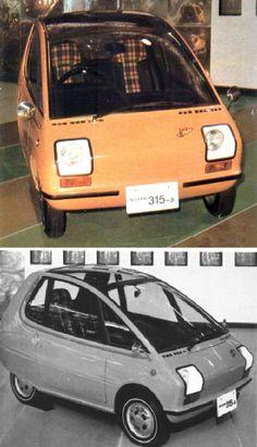 Nissan 315 A Electric Concept.