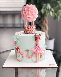 Girly Birthday Cakes, Baby Girl Birthday Cake, Butterfly Birthday Cakes, Candy Birthday Cakes, Creative Birthday Cakes, Elegant Birthday Cakes, Girly Cakes, Beautiful Birthday Cakes, Cute Cakes