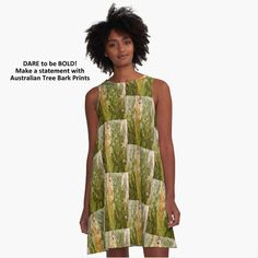 Women's A-LINE DRESSES. See more garments and home decor items from these art prints at Red Bubble by Lexa Harpell. Quick delivery throughout the world. Women's A Line Dresses, Summer Dresses, Tree Bark, Chiffon Tops, V Neck T Shirt, Bubble, Classic T Shirts, Delivery, Art Prints