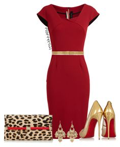 Untitled 256 kgc by fluffet521 on Polyvore featuring Roland Mouret, Christian Louboutin, Diane Von Furstenberg, Charlotte Russe, Givenchy, women's clothing, women's fashion, women, female and woman