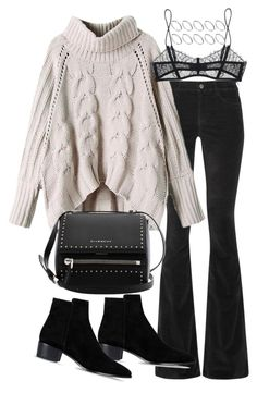 Sin título #994 by osnapitzvic on Polyvore featuring polyvore, fashion, style, M.i.h Jeans, Maison Close, Barbara Bui, Givenchy, ASOS and clothing