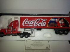Matchbox Collectibles Peterbilt 18 Wheeler Truck Coca Cola Coke 1 58 Scale | eBay