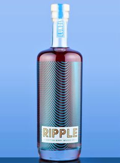 Gin Bottles, Vodka Bottle, Label Design, Packaging Design, Scottish Gin, Bottle Packaging, Product Design, Berries, Alcohol