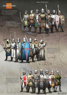 Средновековно въоръжение
